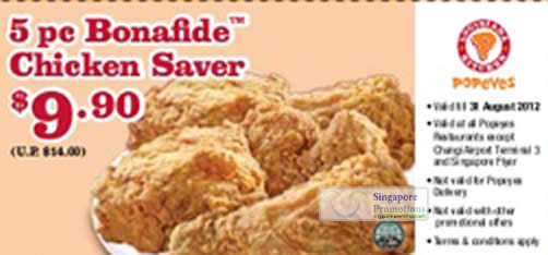 9.90 Dollar 5pc Bonafide Chicken Saver