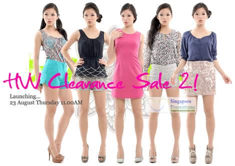 Her Velvet Vase Clearance Sale 23 Aug 2012