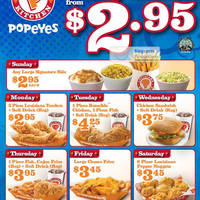 Popeyes Coupon Codes and Promo Codes