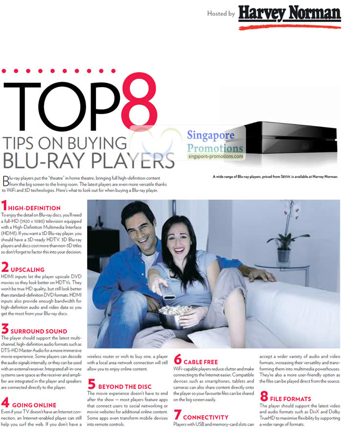 Top 8 tips on Buying Blu-ray players
