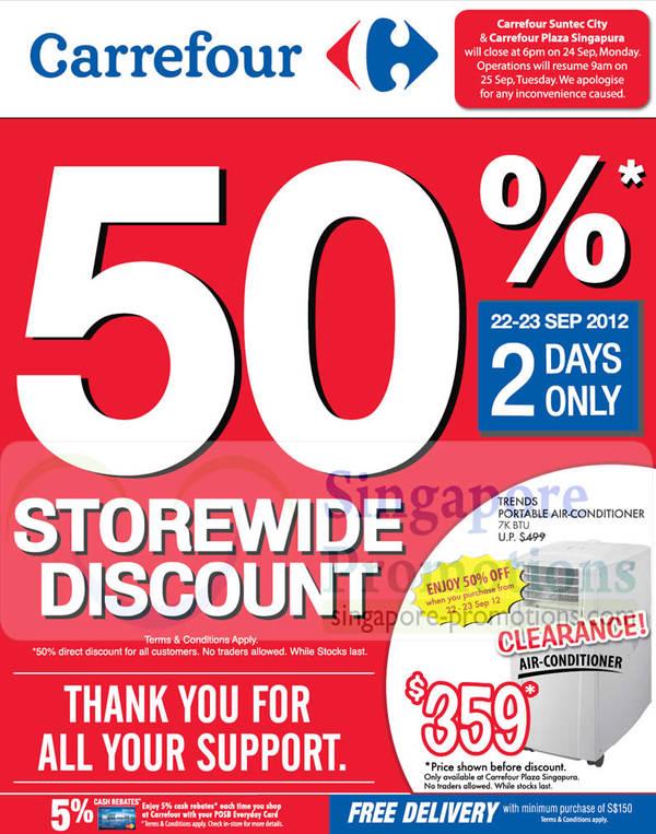 Carrefour Singapura (Sep 2019) | SINGPromos com