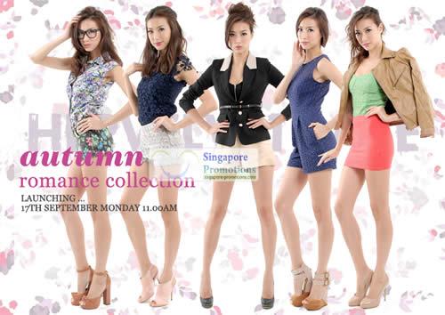 Her Velvet Vase Autumn Romance Collection Launch 17 Sept 2012