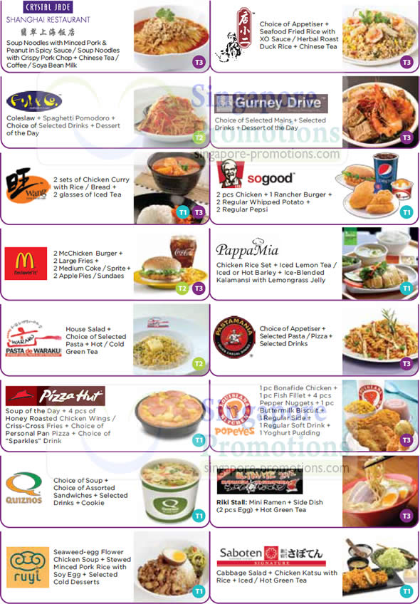 Restaurants With Calories On Menu Singapore