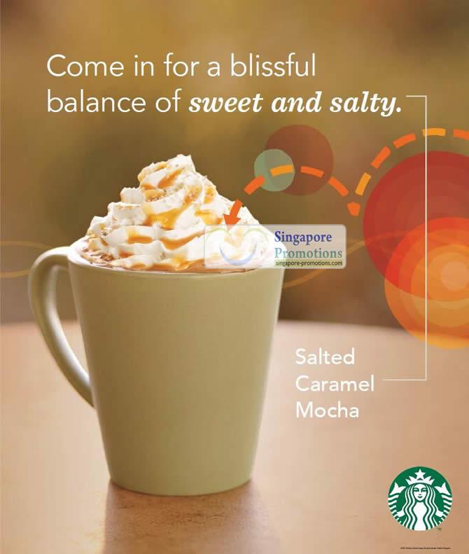 Starbucks Singapore NEW Salted Caramel Mocha Drink 6 Sep 2012