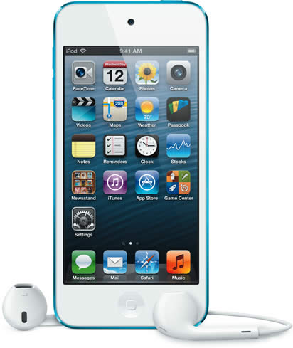 ipod touch 5th gen blue apple launches 5th gen ipod. Black Bedroom Furniture Sets. Home Design Ideas