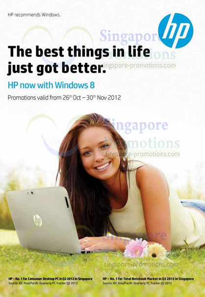 HP with Windows 8