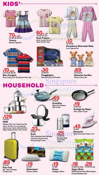 Citibank Online Sign In >> Kids Apparel, Household items, Kitchenware » BHG One Day Bazaar Up To 80% off @ Bugis 26 Oct ...