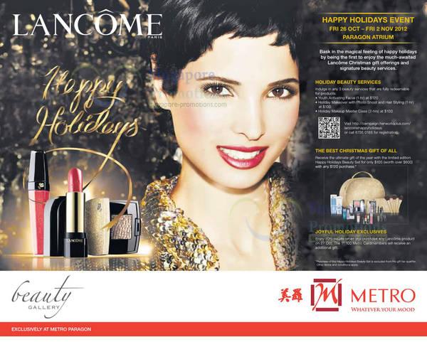 Lancome Holiday Set (Sep 2020) | SINGPromos.com