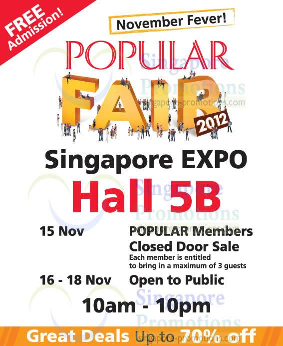 Nov 2012 Popular Fair 2012 Details