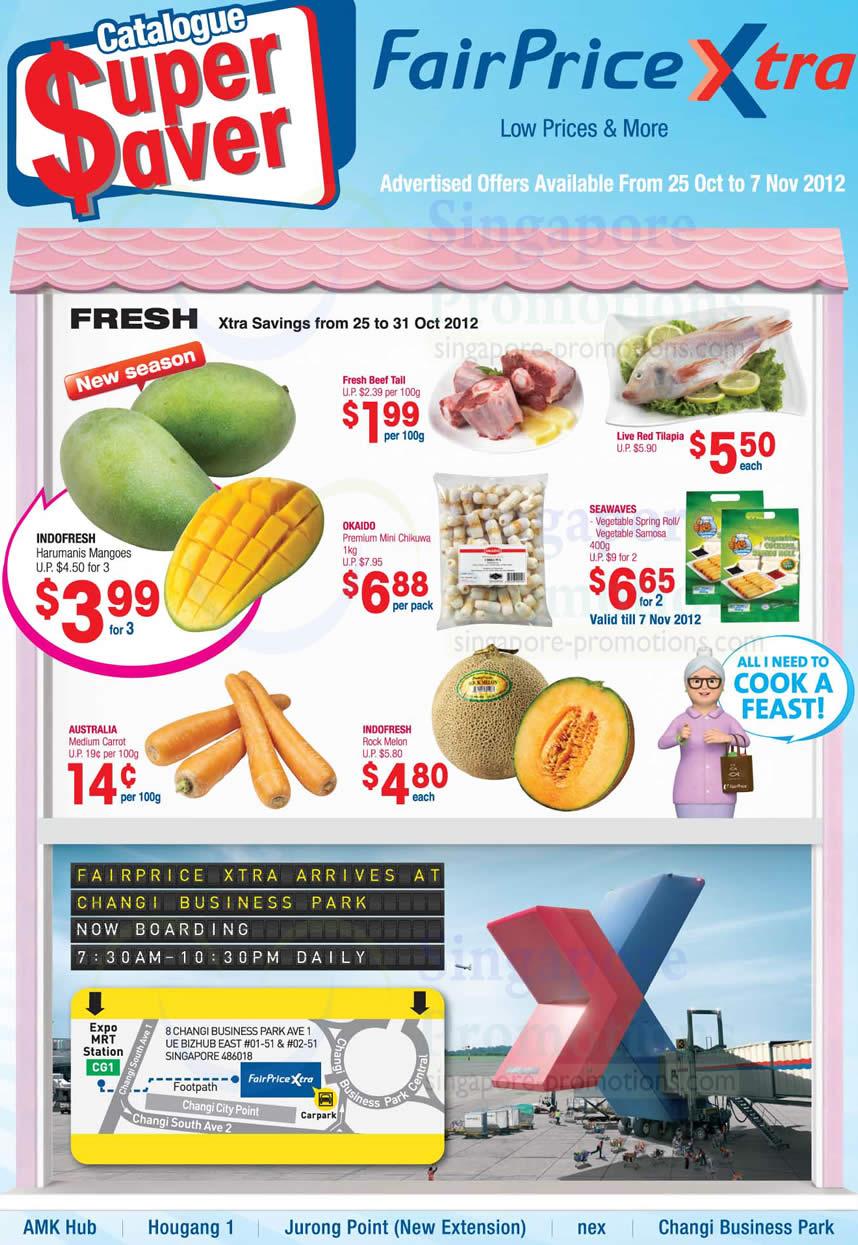 Okaido Premium Mini Chikuwa, SeaWaves Vegetable Spring Roll, SeaWaves Vegetable Samosa, Live Red Tilapia