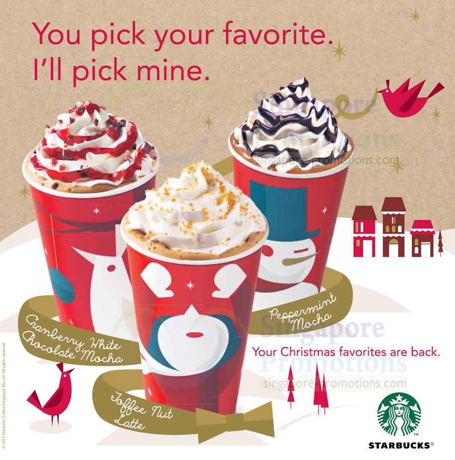 promotion mix of starbucks