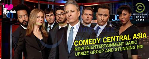 Starhub Comedy Central 3 Nov 2012