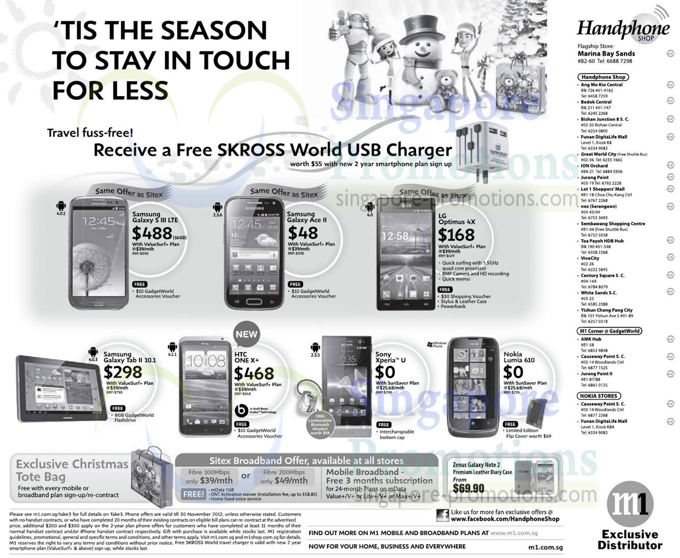 25 Nov Handphone Shop Samsung Galaxy S III LTE Ace 2 Tab