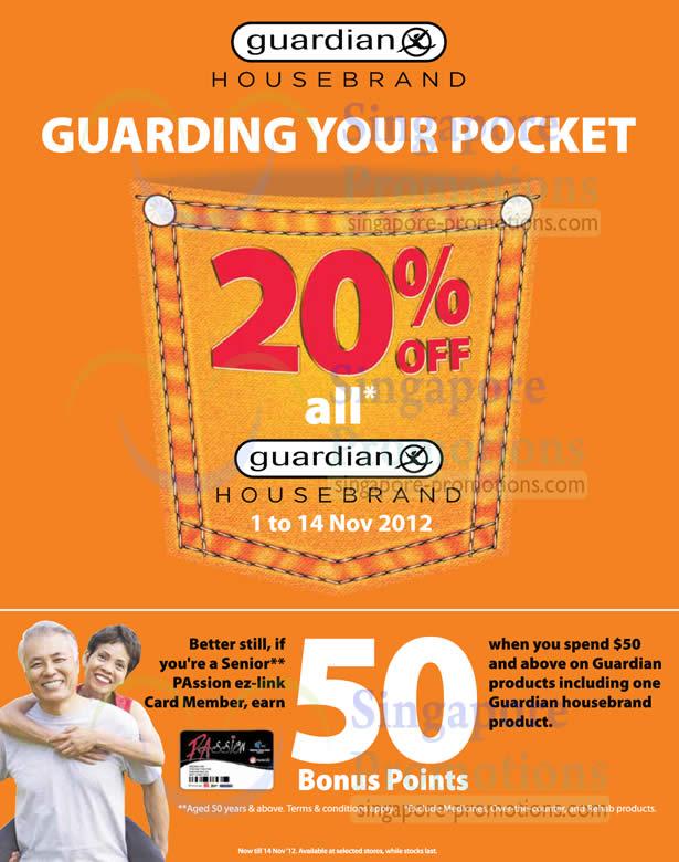 Housebrand 20 Percent Off Promotion