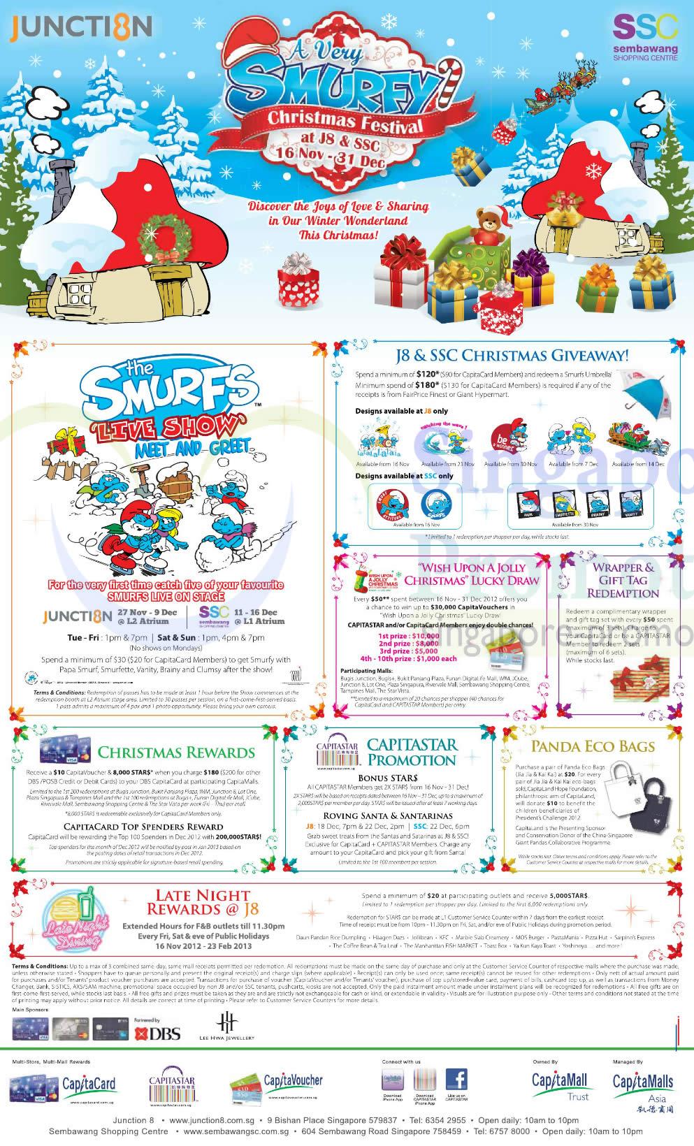 Junction 8, Sembawang Shopping Centre 16 Nov 2012