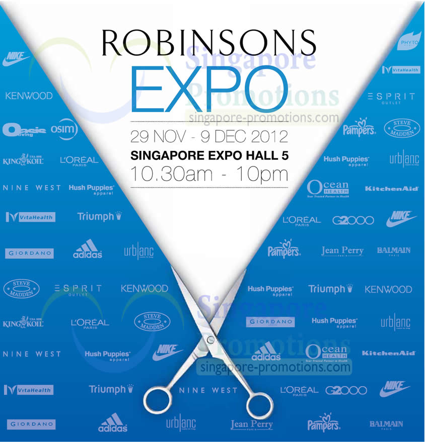 Robinsons Expo Date, Time, Venue