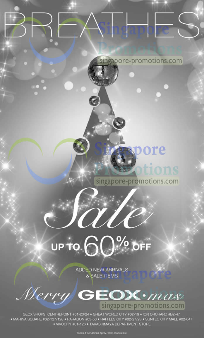 20 Dec Geox Added New Arrivals, Sale Items