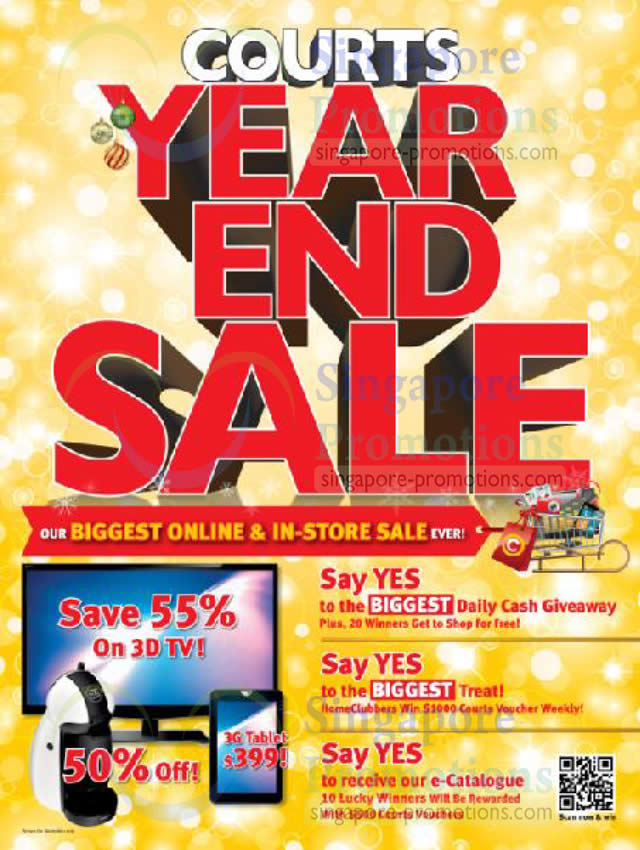 Courts Year End Sale