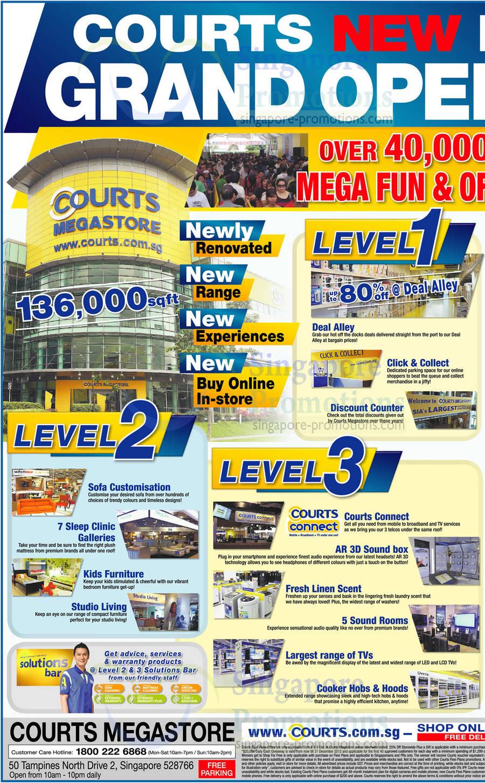 Grand Opening Sale., Level 1, Level 2, Level 3