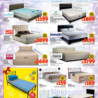 Mattresses Bed Frames King Koil Sealy Slumberland Dunlopillo