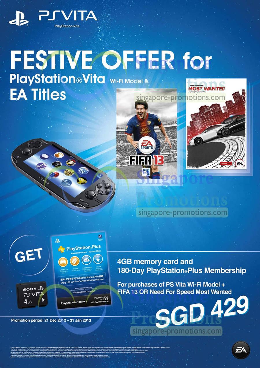 PlayStation Vita Festive Offers Details