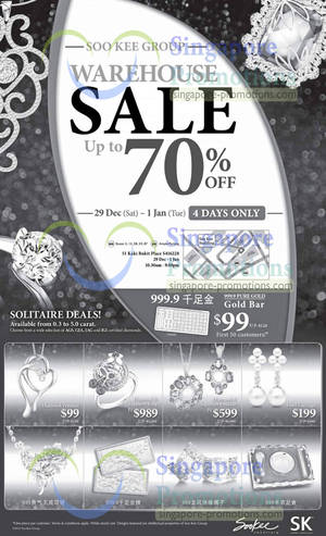 4d5434e742 Soo Kee Group Warehouse Sale Up To 70% Off 29 Dec 2012 – 1 Jan 2013