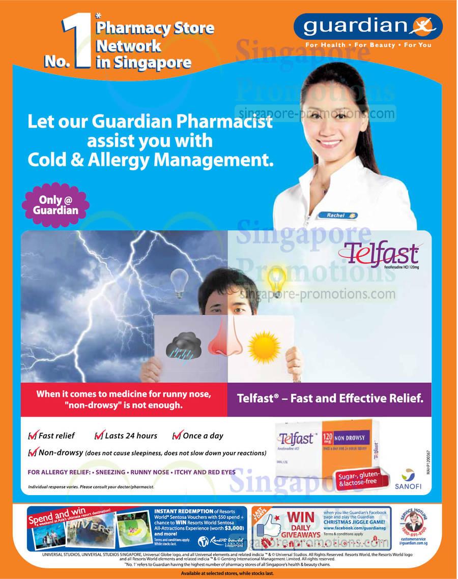 Telfast Fexofenadine HCI