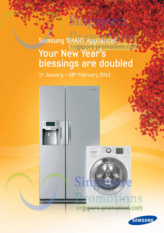Samsung Smart Appliances New Year Offers