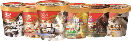 Wall's Ice Cream New Selection & FREE RWS Adventure Cove ...