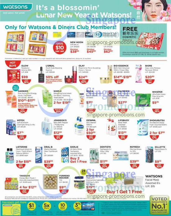 Watsons Personal Care Health Cosmetics Amp Beauty Offers