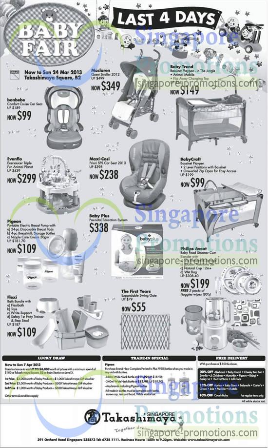 Stroller Car Seat Playpen Bundle