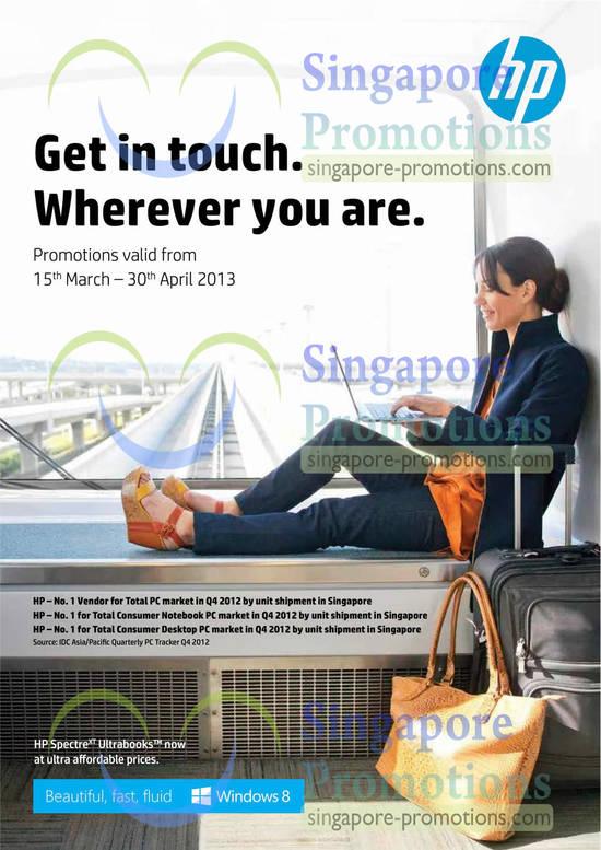HP Notebooks, Desktop PCs, Mouses, Keyboards