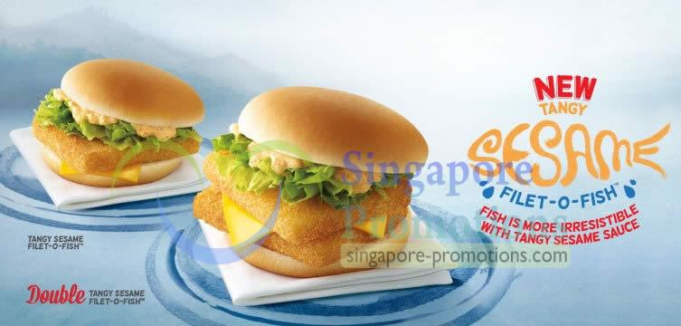 Mcdonald s new tangy sesame filet o fish burger 19 mar 2013 for Filet o fish deal