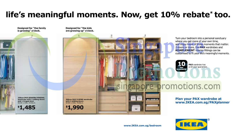Pax Sekken, Vikedal, Ilseng Wardrobe » IKEA 10 Off Pax