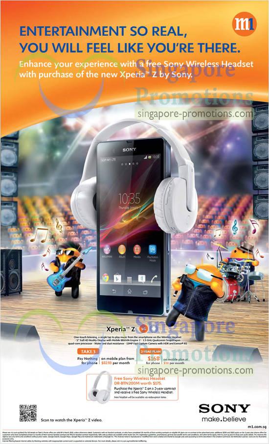 Sony Xperia Z (M1)
