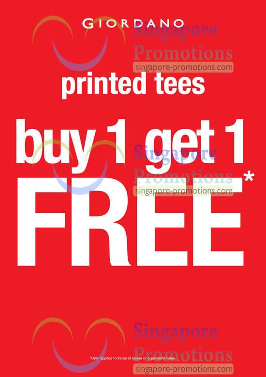 1 For 1 Printed Tees