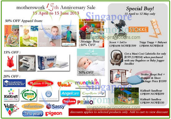 16 Apr Special Buys Till 12 May
