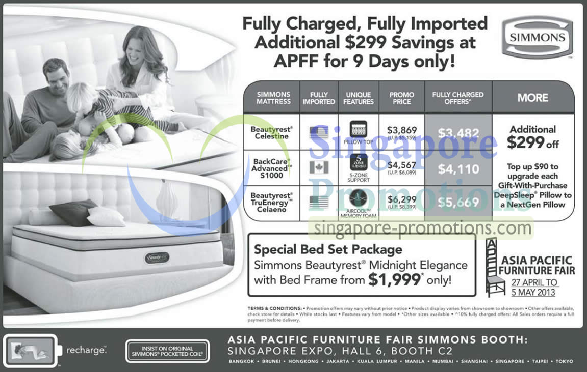 27 Apr Simmons Mattresses Beautyrest Celestine, Backcare Advanced S1000, Beautyrest TruEnergy Celaeno