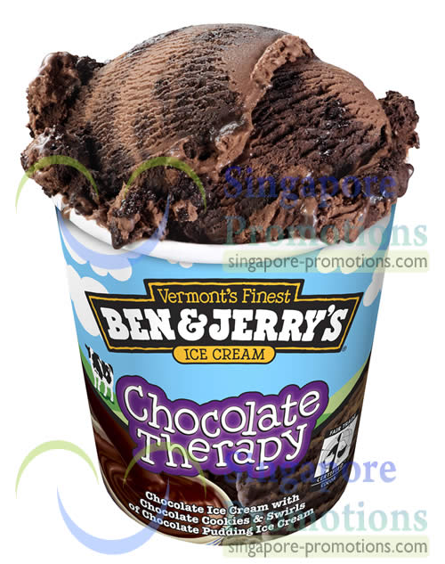 Ben Jerrys New Chocolate Therapy Flavour