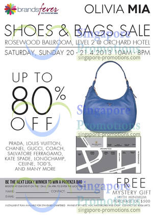 Brandsfever Handbags Sale Up To 80% Off   Orchard Hotel 20 – 21 Apr 2013  UPDATED 1 May 2013 5bb249a056600