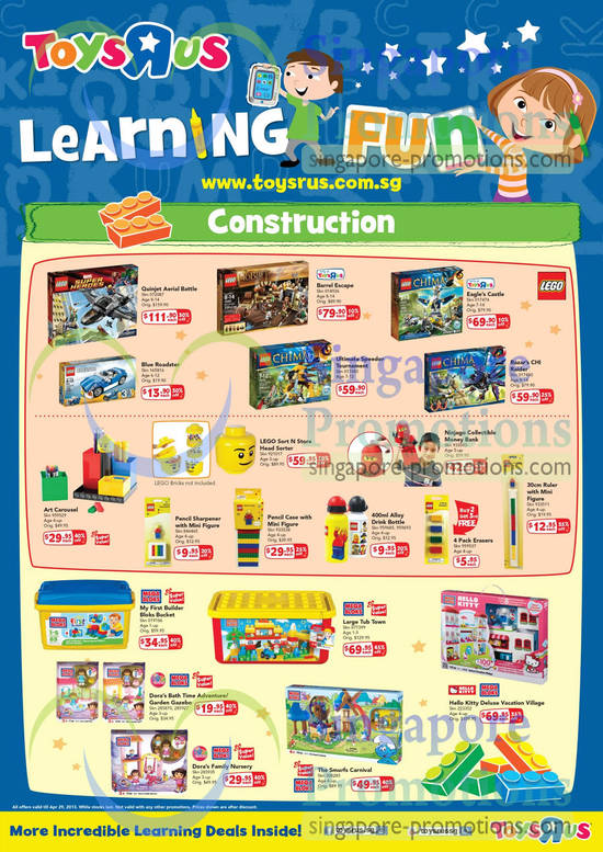 Toys R Us Amp Babies R Us Learning Fun Promotion 4 29
