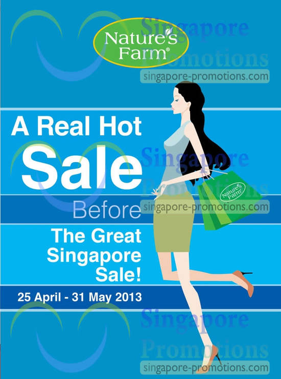 Natures Farm May Promotion