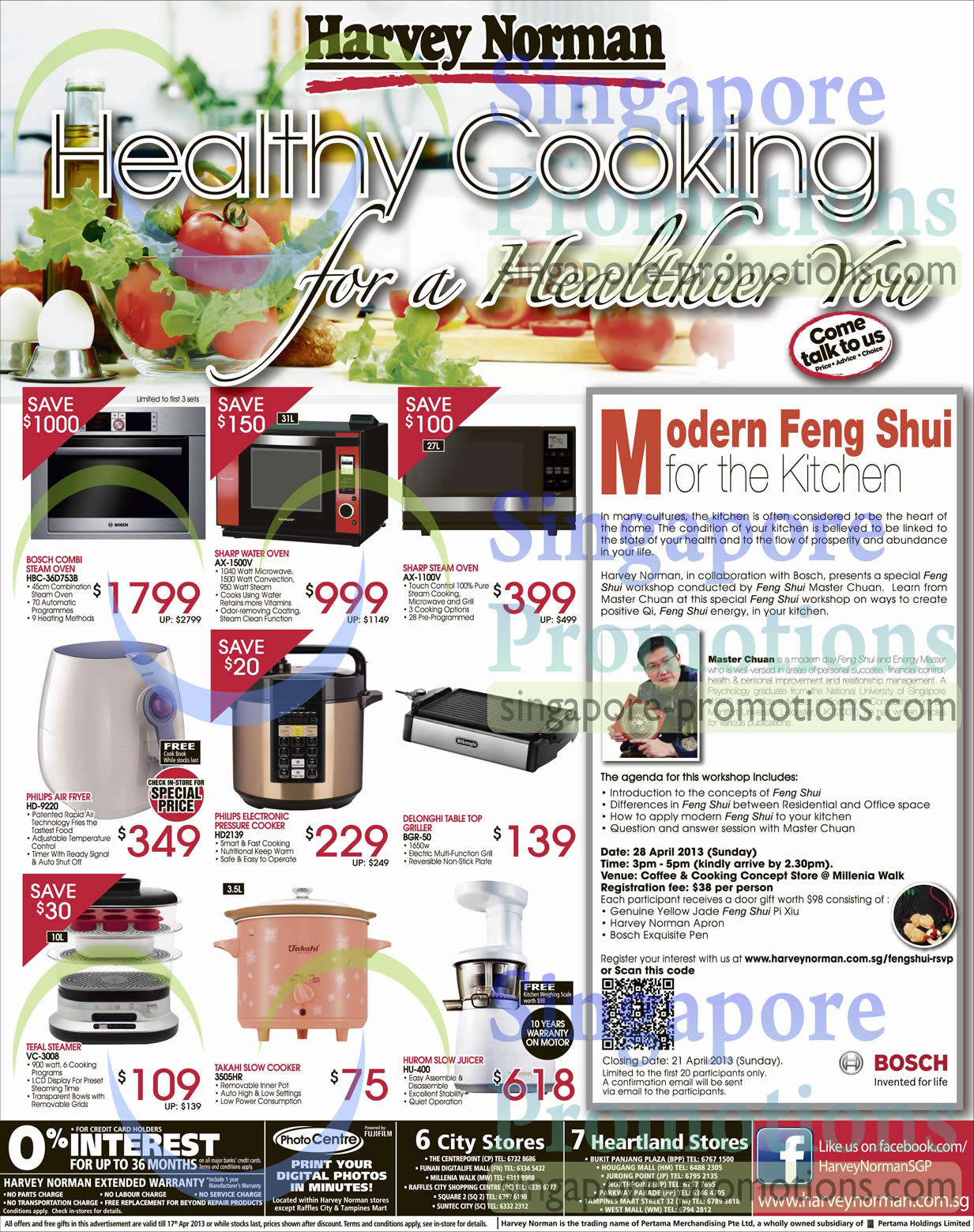 Ovens Sharp, Bosch, Philips, Delonghi, Tefal, Takahi, Hurom Harvey Norman Mattresses & Kitchen ...