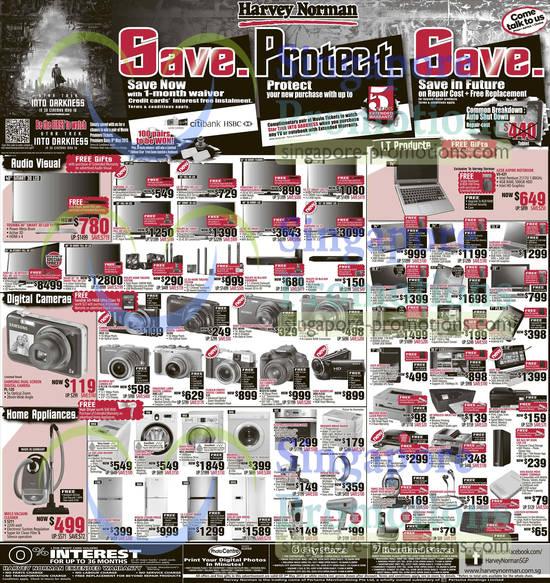 SAMSUNG LED TV UA32F4000, SONY LED TV KDL-65HX955, SAMSUNG DIGITAL CAMERA PL-120, OLYMPUS Digital CAMERA E-PL3, MIELE VACUUM CLEANER S5211, ELECTROLUX FRIDGE ETB-2300PC, HITACHI FRIDGE R-ZG451EMS-GBK, LG FRIDGE GR-M702GLC, SAMSUNG FRIDGE RS-H5SUSW, SHARP DRYER IF-PB1S, PANASONIC PHONE KX-TG6511, LOGITECH KEYBOARD K400R, SENNHEISER EARPHONES CX870, CANON PIXMA MG-6370 Inkjet Printer, BROTHER Laser Printer MFC7860, HP OFFICEJET lNKJET 4620 Printer, HP Deskjet 3520 Printer, ASUS NEXUS 7, SAMSUNG GALAXY NOTE 10.1, ASUS Transformer TF810C-1B001P, Samsung GALAXY TAB 2 7.0, SHINCO TABlet MID-8089D, HP Envy Phoenix H9-1330D Desktop PC , Sony Vaio SVE-15138CG Notebook, Asus Zenbook Ultrabook Notebook UX32VD-R4030H, Acer Aspire AZ1620 AIO Desktop PC, SAMSUNG ULTRABOOK Notebook NP530U3C, LENOVO IDEAPAD NOTEBOOK Z400, TOSHIBA SATELLITE Notebook L840-1057, ACER ASPIRE NOTEBOOK V5-431, SAMSUNG LED TV UA-55F6400, LG LED TV 39LN5400, PANASONIC LUMIX DIGITAL CAMERA DMC-LX7, LG WASHER W-FT1001, Samsung Washer WF-8692, BOSCH WASHER WAS-28448ME, DYSON Fan AM01DM30SF, Electrolux Oven EOC-35000X, Canon EOS 650D DSLR Digital Camera, FUJIFILM FINEPIX DIGITAL CAMERA X20, SONY HANDYCAM HDR-PJ230 Camcorder, Olympus Digital Camera XZ-1, SONY Digital Camera DSC-WX80, Nikon DIGITAL CAMERA S6300, CANON IXUS 132 DIGITAL CAMERA and BRAUN SHAVER 340