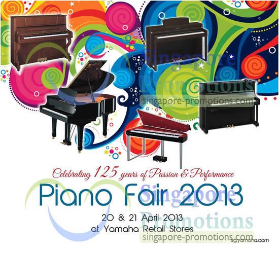 Yamaha Piano Fair 2013