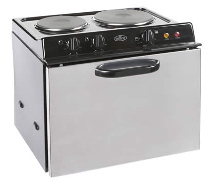 Baby Belling Stainless Steel