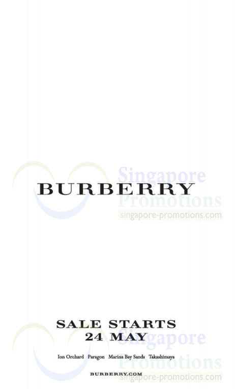 Burberry 23 May 2013