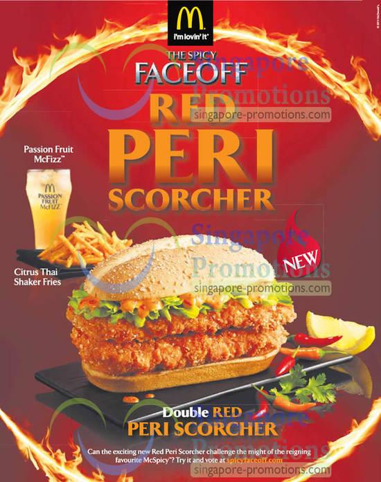 Double Red Peri Scorcher