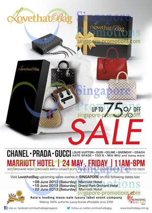 LovethatBag Branded Handbags Sale Up To 75% Off   Marriott Hotel 24 May 2013 d6cf6f91e4ad9