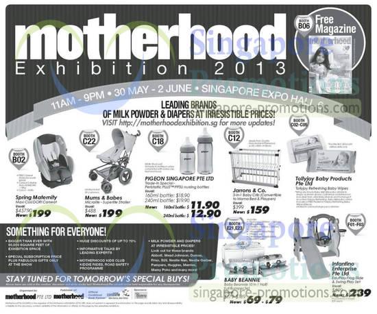 Motherhood Exhibition 29 May 2013